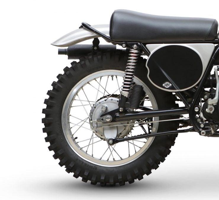 Yamaha SC500 Rear Wheel