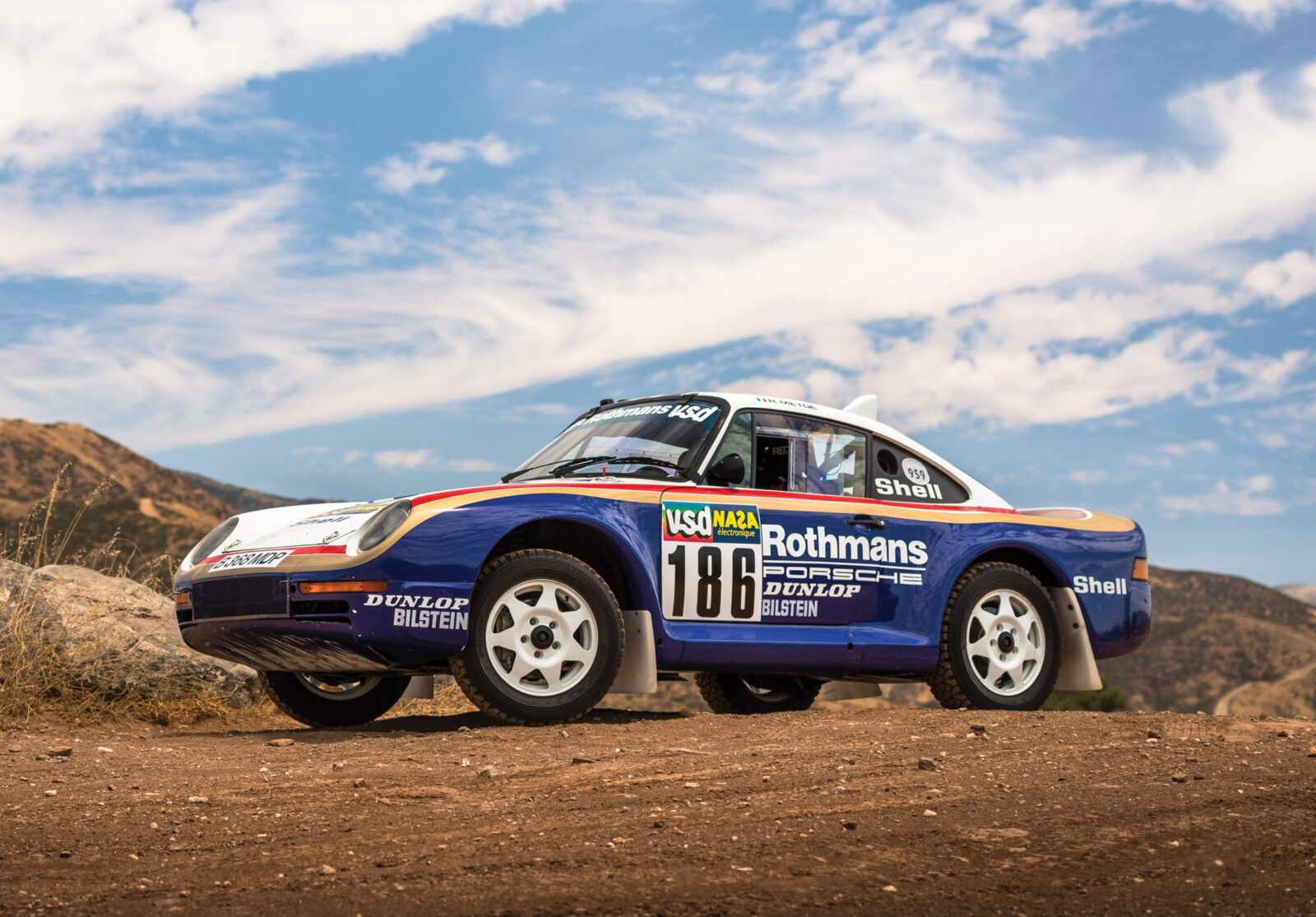 The German Rally Unicorn An Original Porsche 959 Paris