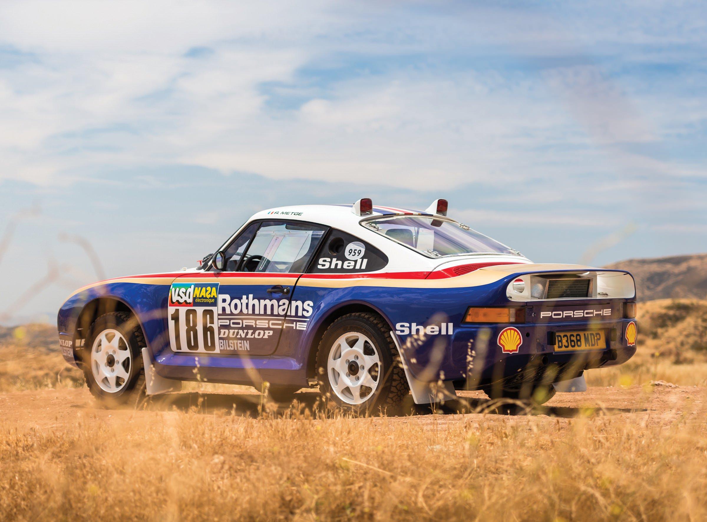Porsche 959 For Sale >> The German Rally Unicorn: An Original Porsche 959 Paris-Dakar Racer