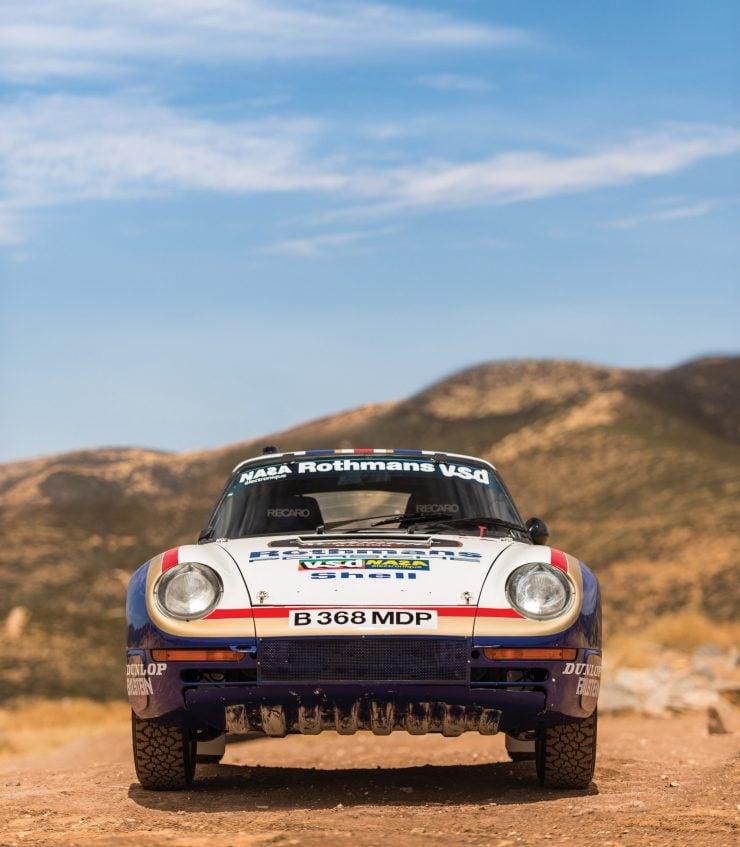 Porsche 959 Paris-Dakar Front
