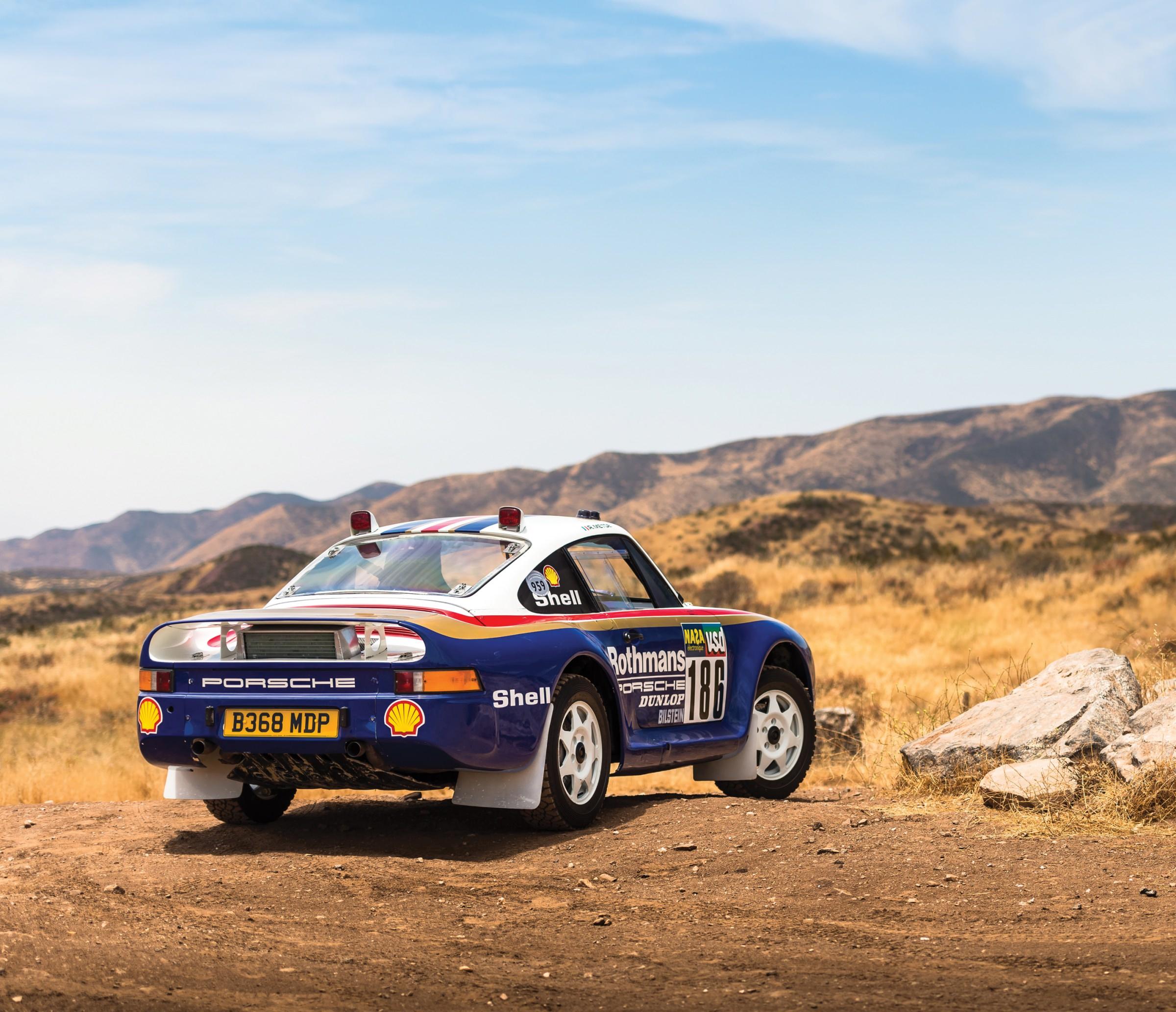 Porsche 959 For Sale >> The German Rally Unicorn: An Original Porsche 959 Paris ...