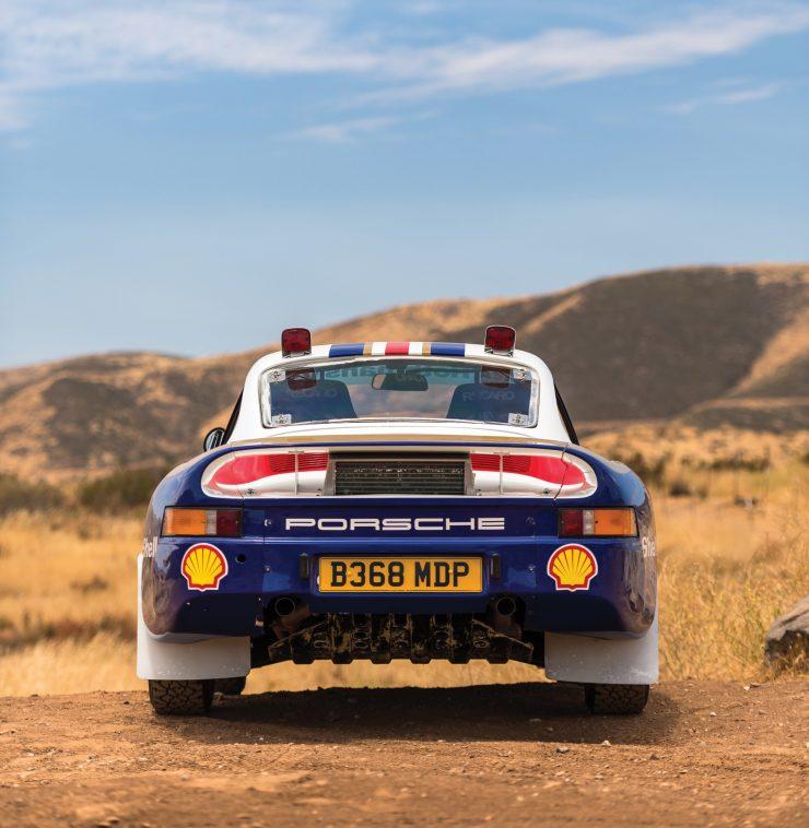porsche 959 paris dakar car 20 740x758 - The German Rally Unicorn: An Original Porsche 959 Paris-Dakar Racer
