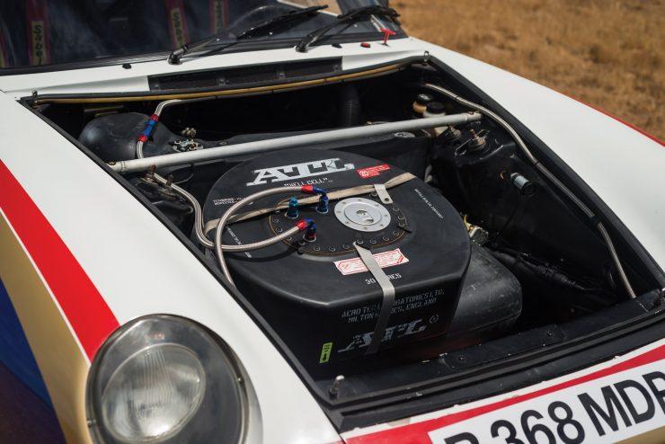 Porsche 959 Paris-Dakar Fuel Tank