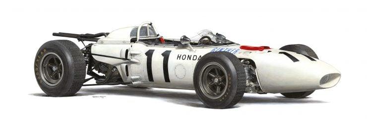 1967 Honda RA272 Formula 1 Car
