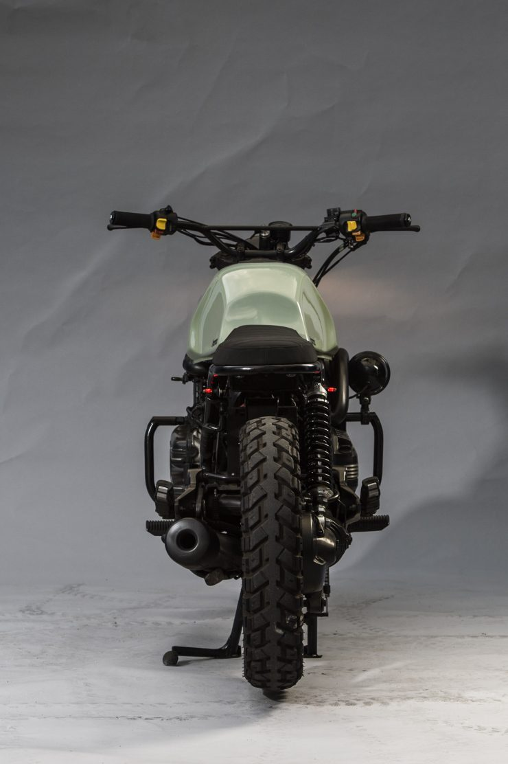 BMW K1100 Scrambler Back