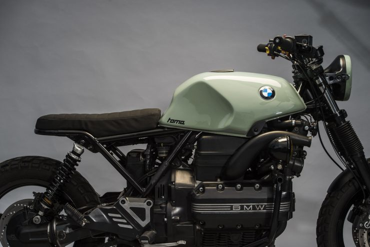 BMW K1100 Scrambler Close Up