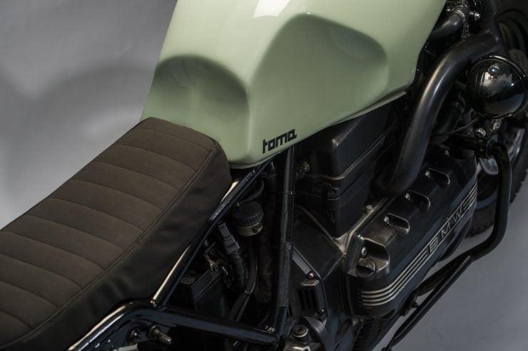 BMW K1100 Scrambler Details