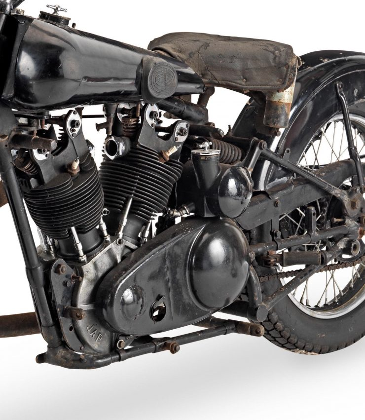Brough Superior SS100 JAP Engine