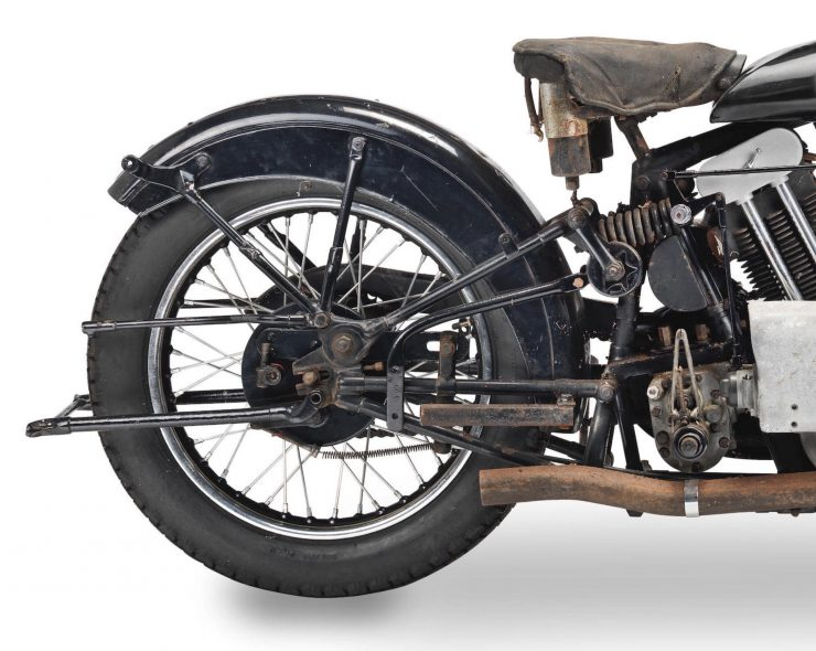 Brough Superior SS100 Rear Suspension