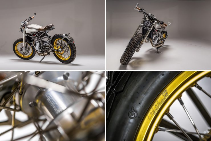 CCM Spitfire Motorcycle Collage