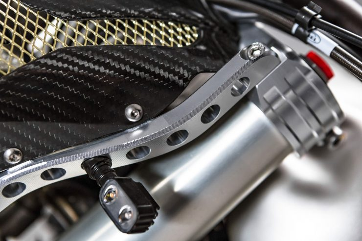CCM Spitfire Motorcycle Detail