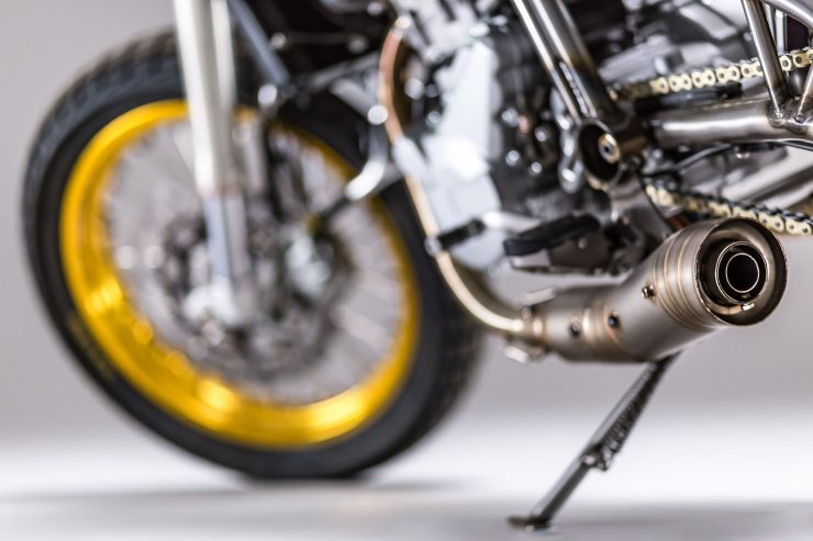 CCM Spitfire Motorcycle Exhaust 3