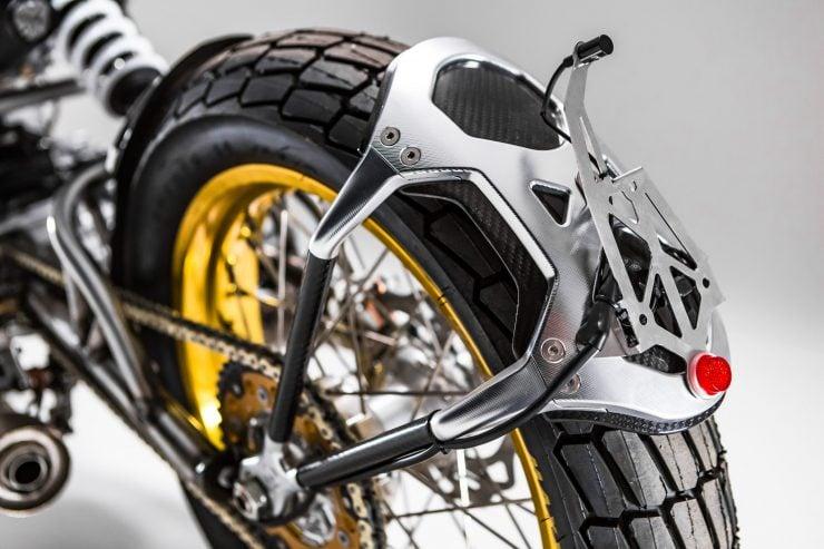 CCM Spitfire Motorcycle Fender