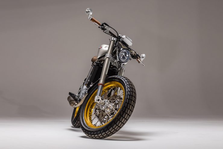 CCM Spitfire Motorcycle Front 4