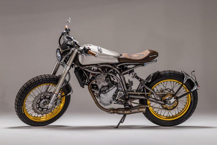 CCM Spitfire Motorcycle Left Side