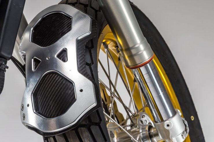 CCM Spitfire Motorcycle Rear Fender