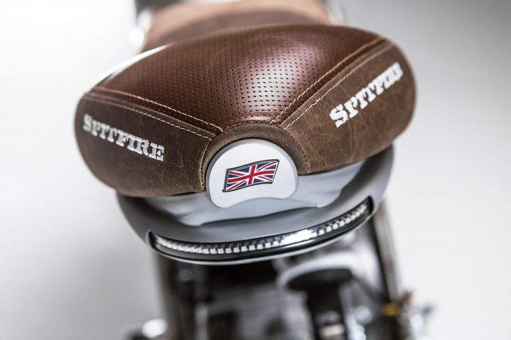 CCM Spitfire Motorcycle Seat