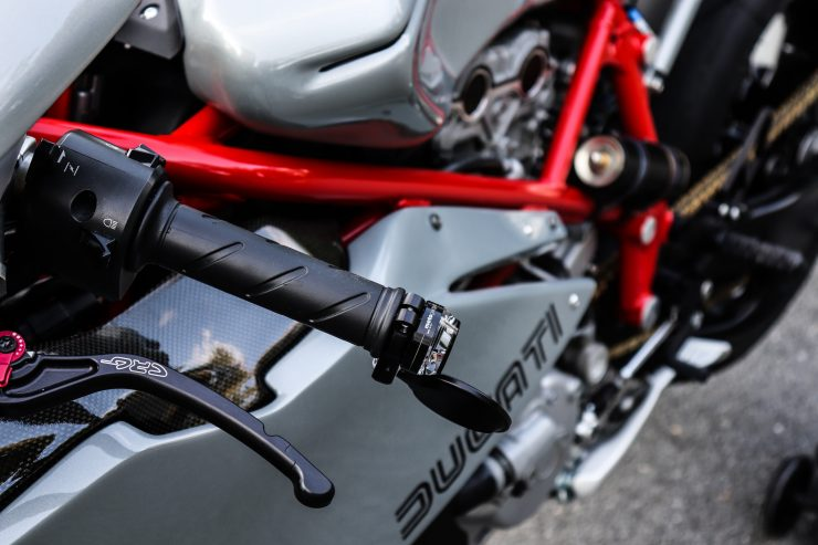 Ducati 749 Custom Engine
