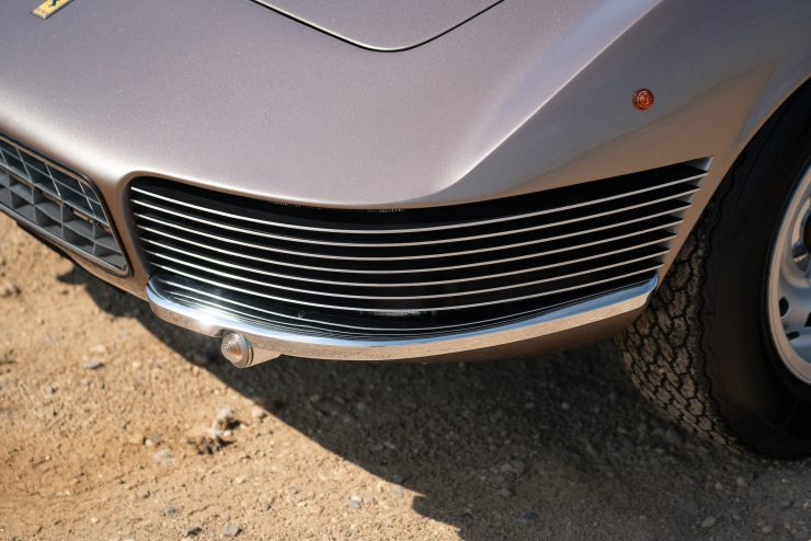 Ferrari 330 GT 22 Shooting Brake Grille 740x494 - The Only One Ever Made - 1965 Ferrari 330 GT 2+2 Shooting Brake