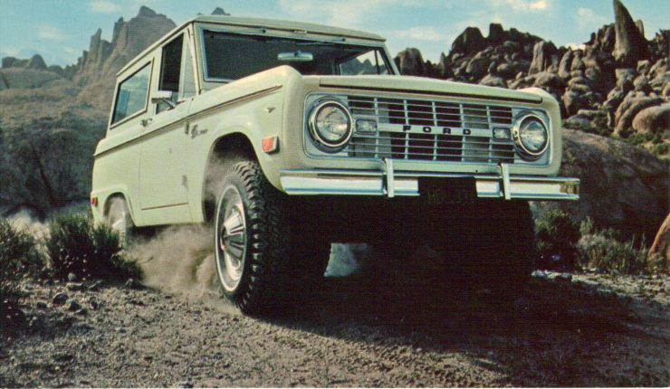 First Generation Ford Bronco 4x4