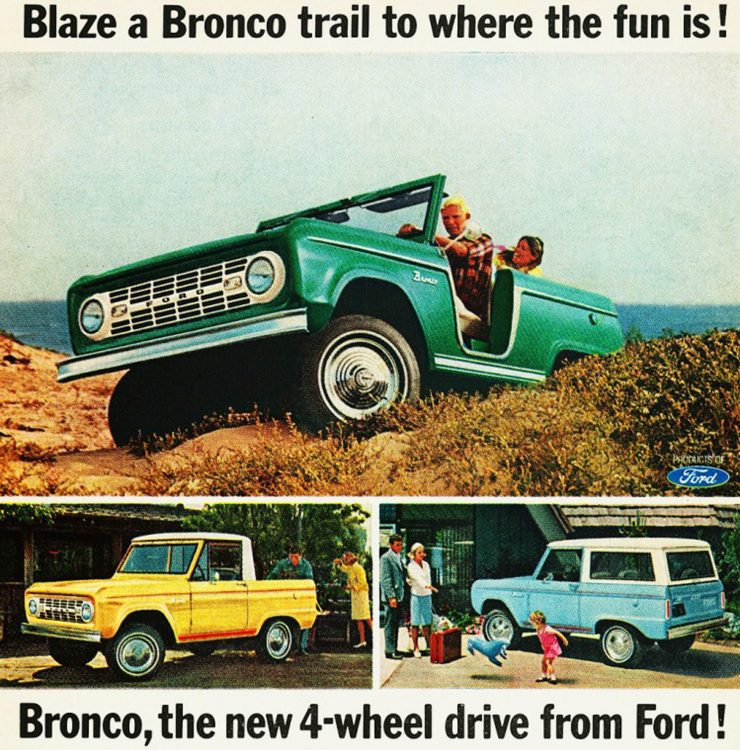 First Generation Ford Bronco Ad
