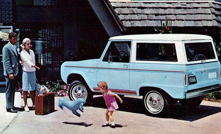 First Generation Ford Bronco Advertisement