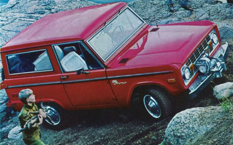 First Generation Ford Bronco Car