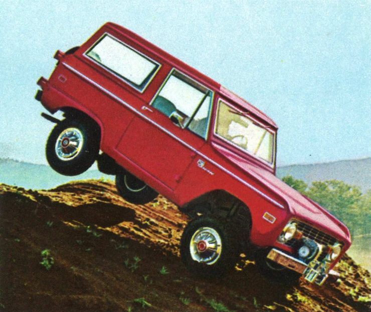 First Generation Ford Bronco Jump