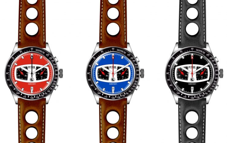 Goodspeed Petrol Racing Watch 1