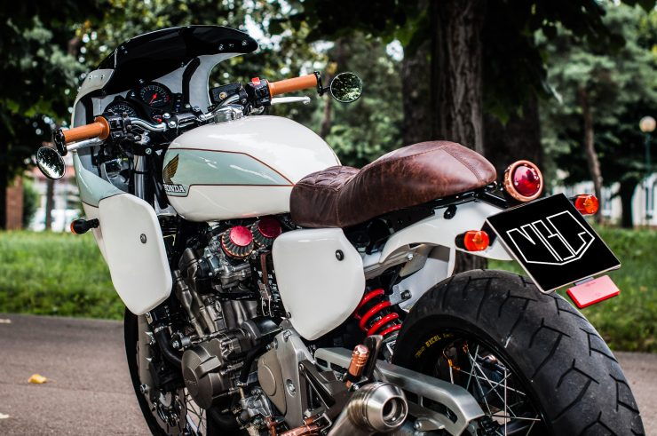 Honda Hornet CB600F Custom Close Up 2