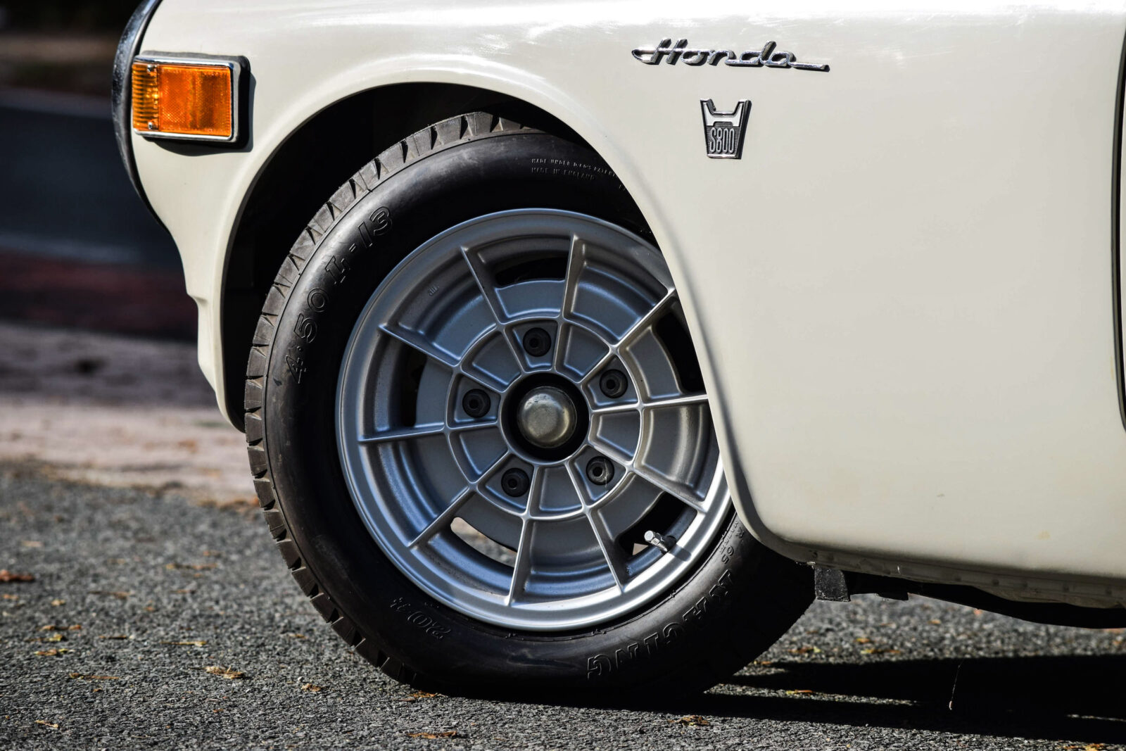 Honda S800 Racing Car Wheel 1600x1067 - 1 of 2 Ever Made - A Rare Original Honda S800 Racing
