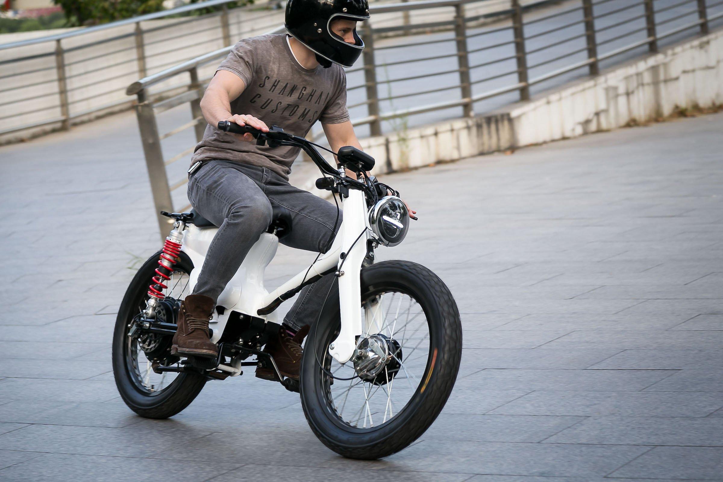 Honda Ecub A Honda Cub Electric Conversion Kit By