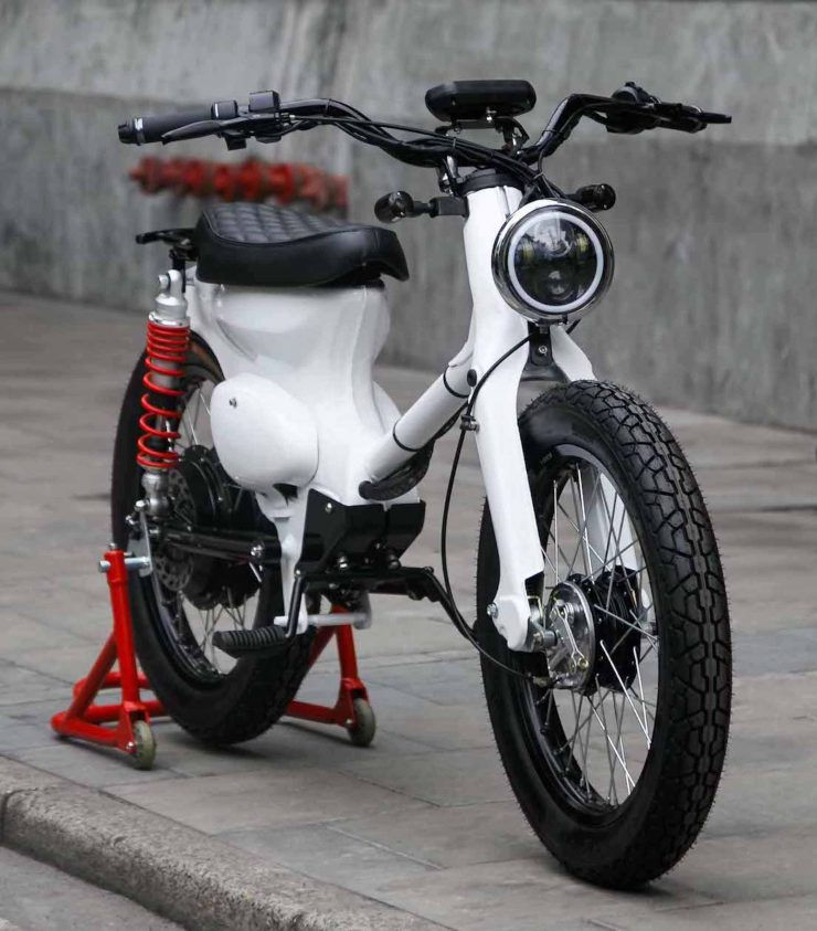 Honda eCub - A Honda Cub Electric Conversion Kit 10