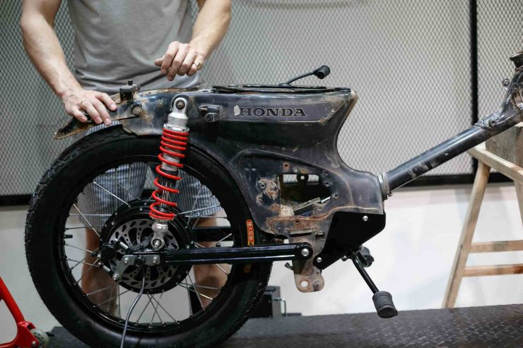 Honda eCub - A Honda Cub Electric Conversion Kit 4