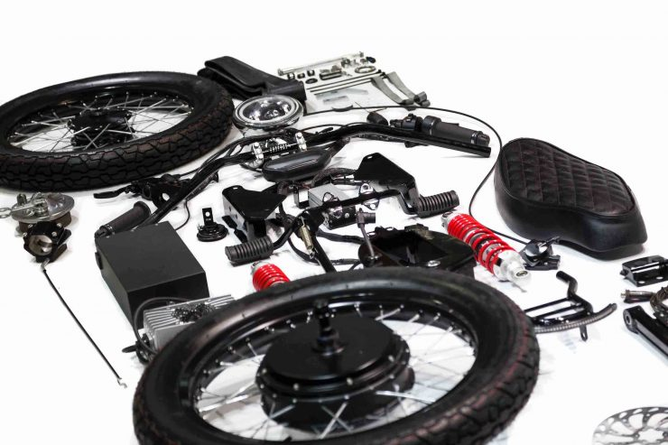 Honda eCub Electric Motorcycle Parts
