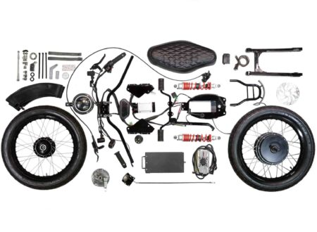 Honda eCub - Honda Cub Electric Conversion Kit By Shanghai Customs