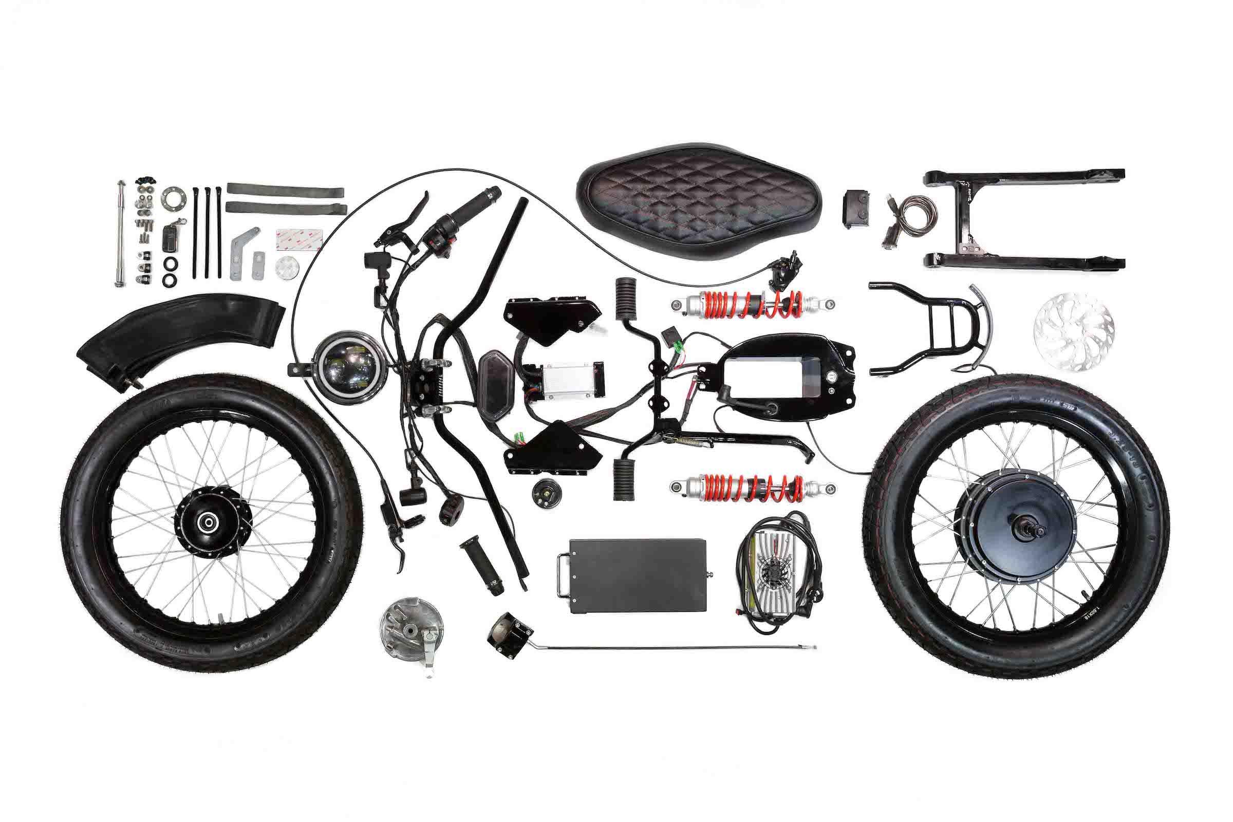 Honda eCub - Honda Cub Electric Conversion Kit By Shanghai Customs