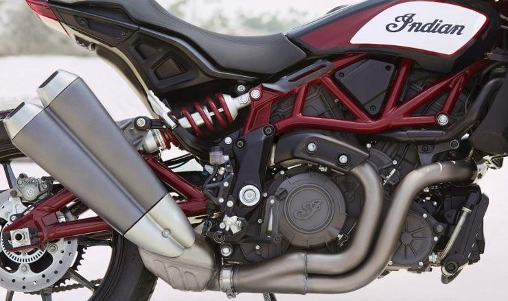 Indian FTR 1200 + FTR 1200 S Engine