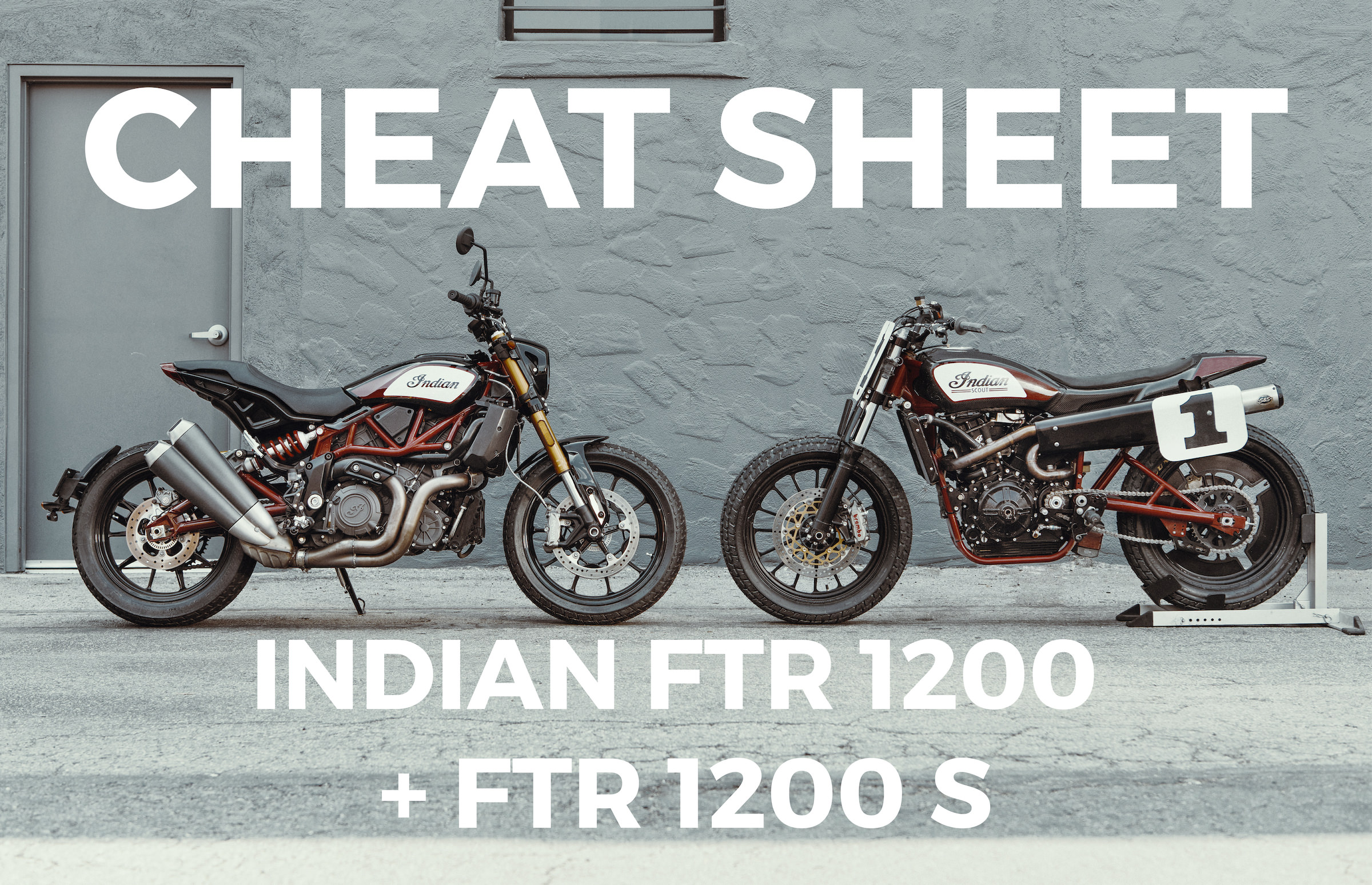 Indian FTR 1200 S Motorcycle