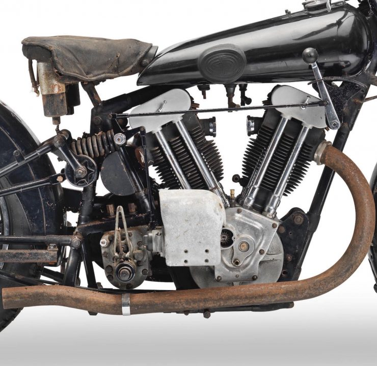 JAP Motorcycle V-Twin Engine