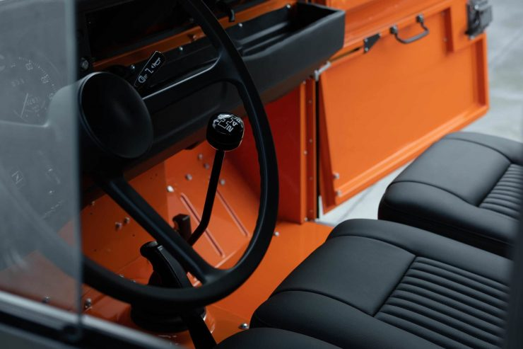 Land Rover Stage 1 V8 Seats