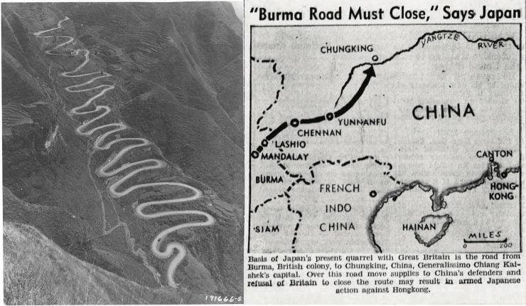 Ledo and Burma Road Image