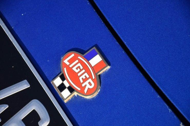Ligier JS2 Car Badge