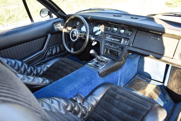 Ligier JS2 Car Interior