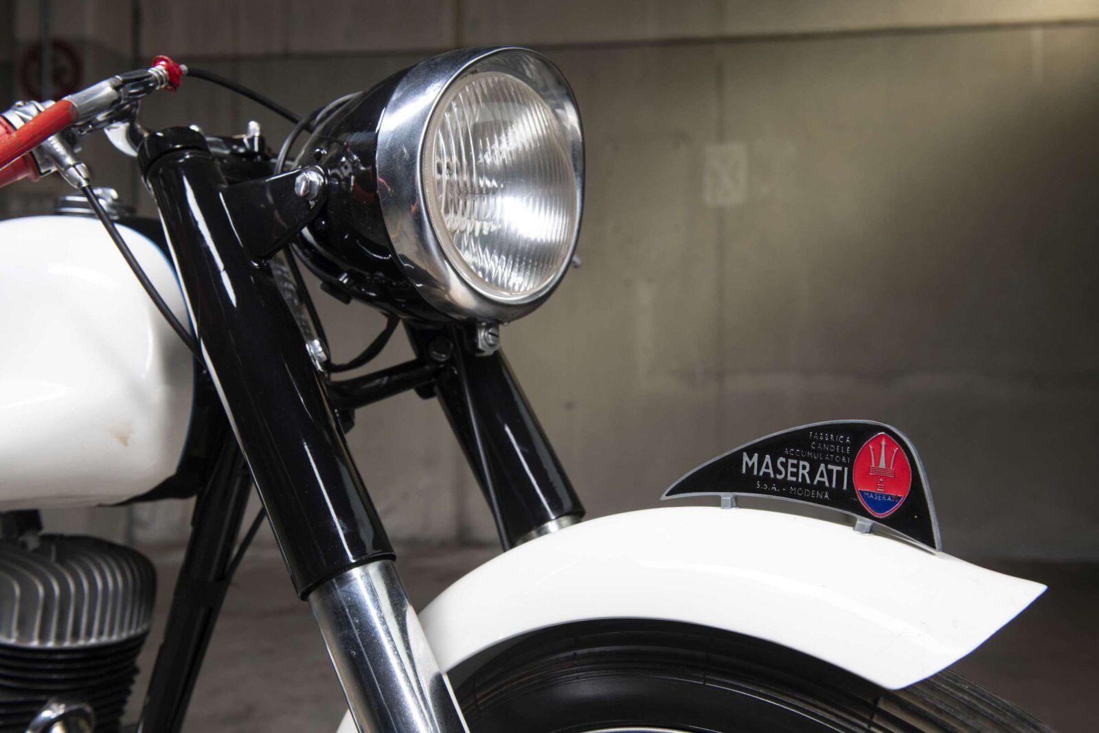 Maserati Motorcycle Front Fender