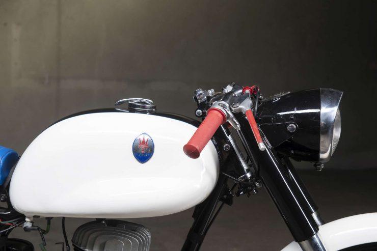 Maserati Motorcycle Fuel Tank
