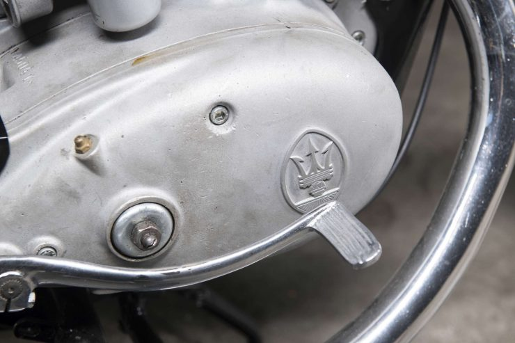 Maserati Motorcycle Logo