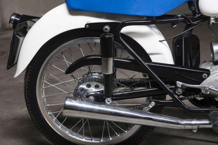 Maserati Motorcycle Rear Wheel