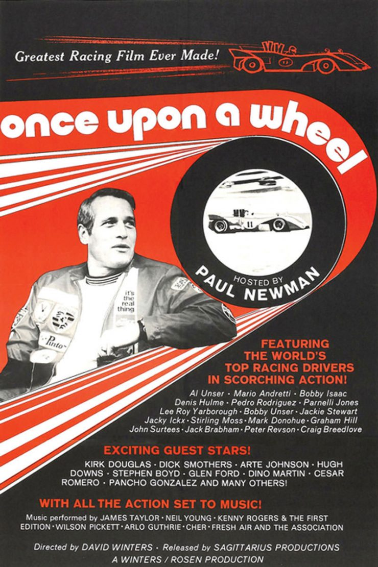 Once Upon A Wheel - Paul Newman