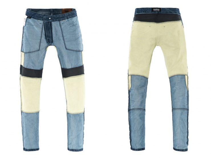 Pando Moto Karl Navy Motorcycle Jeans Kevlar